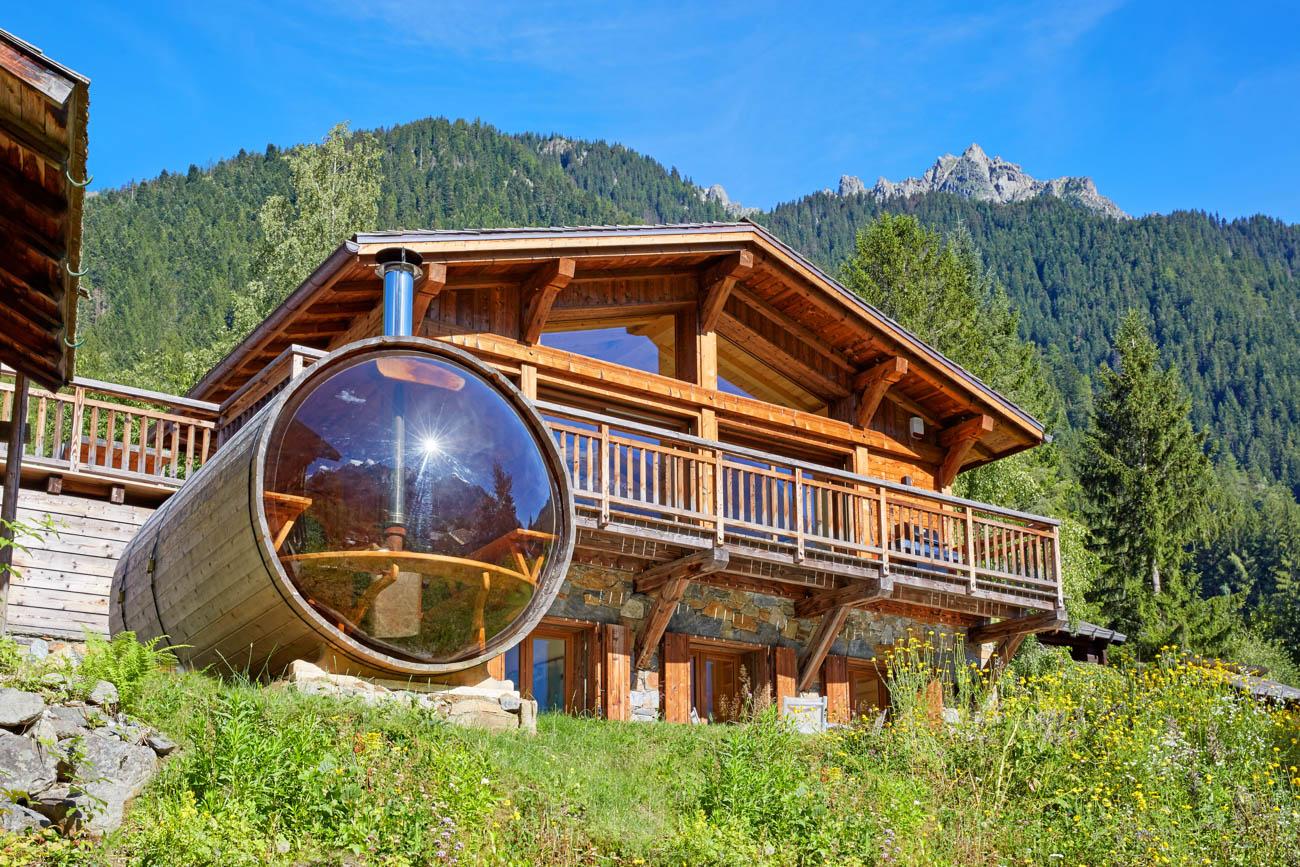 Catered luxury chalets in chamonix Chamonix